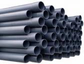 PVC-rör 50mm PN10 utan muff 1,2m längd