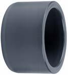 Reducering 63 mm ytter - 50 mm inner